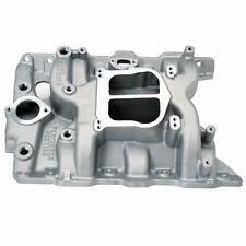 Edelbrock 2156 Performer Intake Manifold Pontiac V8 Square/Spread Bore Flange