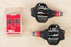 Used Time ATAC XC6 Pedals - Julien Absalon w/ new Attac Easy cleats
