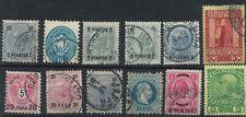 Austria  Post Office Turkish Empire / Crete used  Overprints   ref.1022