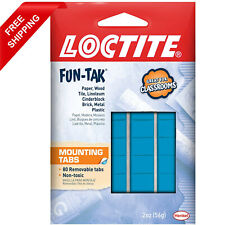 Loctite Home and Office 2-ounce 80 Pack Fun-tak Removable Mounting Putty Tabs