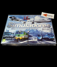 LA COLECCION DE SIMULADORES X PLANE8 FX FUTBOL TRAINZ CITIES PC CASTELLANO NUEVO