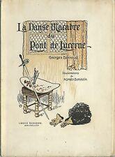 RARE EO N° GEORGES EEKHOUD + ROMÉO DUMOULIN : LA DANSE MACABRE DE LUCERNE