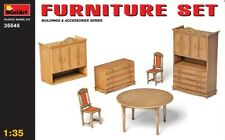 Miniart 35548 - 1/35 muebles set/Furniture set-nuevo