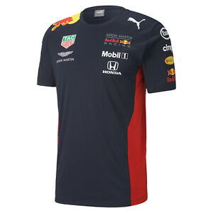 Aston Martin Red Bull Racing – official Formel 1 Teamline T-Shirt 2020 von Puma