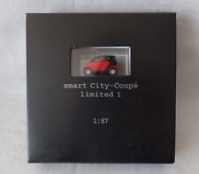 Busch/ MCC Werbemodell 1:87 Smart City-Coupe limited 1 - rot