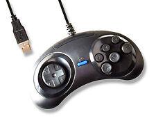 6 Button PC MAC USB Controller Joypad Mega Drive MegaDrive Genesis Style