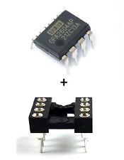 5PCS Burr Brown OPA2604AP OPA2604 + Sockets - Dual FET Operational Amplifier IC
