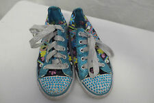 Sketchers Twinkle Toes Very Good Blue Sz 2 Shoes