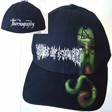 CRADLE OF FILTH THORNOGRAPHY BLACK FITTED BASEBALL HAT CAP NEW OFFICIAL