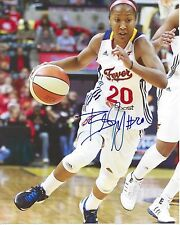 Briann January Signed 8 x 10 Photo Wnba Basketball Indiana Fever Free Shipping