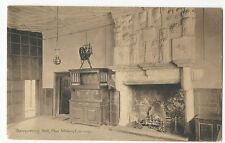 Wales - Conwy, Plas Mawr, Banqueting Hall - 1900's Postcard