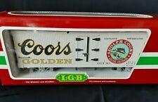LGB 43720 Coors Golden Refrigerator Beer Car LIMITED EDIT In Original Box ~ RARE