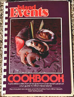 Island Events Cookbook Spiral Hilton Head Island Recipes 1981*1st Printing,NICE!