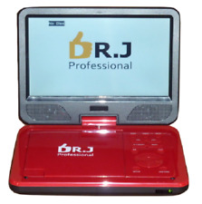 "wholesale lot of 151 Dr. J Portable Dvd Cd Players 10.1"" Swivel Flip Screen"