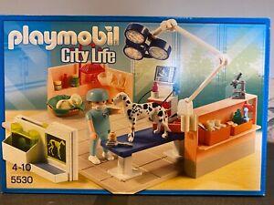PLAYMOBIL© 5530 CityLife Tierarztpraxis mit Röntgengerät in OVP