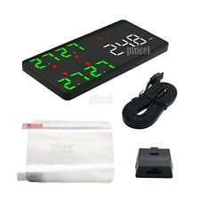HUD Head-Up Display Kit OBD2 with TPMS Tire Pressure Monitor System V612