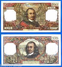 France 100 Francs 1972 4 May Serie U Corneille Europe Frcs Frcs Free Ship Wrld