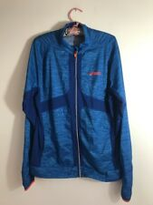 Large ASICS Jacket Motion Protect Blue Light Soft Shell Running Cycling Coat