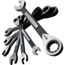 New! Craftsman 7 pc. Standard Universal Ratcheting Wrench Set - SAE
