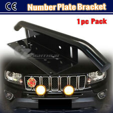 Bumper Number License Plate Holder LED Spot Light Mounting Bracket Bullbar Clamp