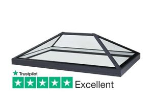 Roof Lantern Rooflight For Flat Roof - Low E Glass 1000mm x 1500mm