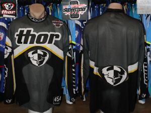 Thor Official Sponsor Supercross Series Motocross Bike Offroad Gear Shirt Jersey