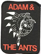 ADAM & THE ANTS Ant Music For Sex People Old OG Vtg Early 1980`s Printed Patch