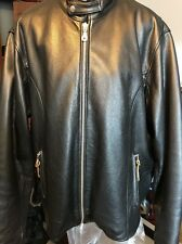 Leather Limited Motorcycle Jacket Size XXL
