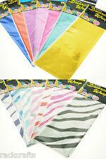Metallic Foil Tissue Paper Sheet Shiny Gift Wrap Bags Solid African Safari Zebra