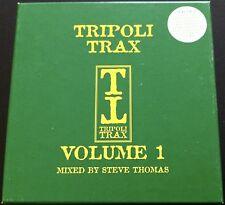 VA TRIPOLI TRAX VOLUME 1 MIXED BY STEVE THOMAS RARE UK 2CD BOX SET Tony De Vit