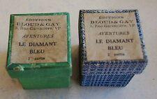 Le Diamant Bleu Pierre ROUGE 2 film fixes éditions Bloud & Gay années 1950