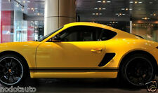 Car Racing Stripes Lower Door Panel Decal for Cayman Boxster Vinyl Stickers #926