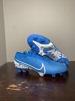 Size 13 - Nike Mercurial Vapor 13 Pro FG Men's Soccer Cleats Blue AT7901-414