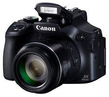 Canon PowerShot SX60 HS Black Digital Camera 16.8MP Wi-Fi from Japan New