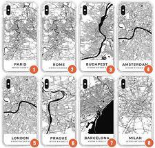 Mapas de ciudad europea-Colección I Impact teléfono caso para | viajes Wanderlust Euro