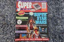 Super Pro NINTENDO Magazine ISUUE 1 1992 SUPER STAR WARS