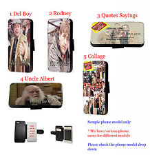 Only Fools Horses Inspired leather wallet phone case for iPhone Samsung LG