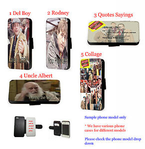 Only Fools Horses leather wallet phone case for Huawei Samsung S10