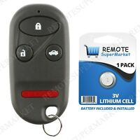 Replacement for Honda 2001-2010 Goldwing GL1800 Motorcycle Remote Fob Keyless