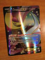 NM FULL ART Pokemon CRESSELIA EX Card BOUNDARIES CROSSED Set 143/149 BW AP