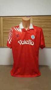 SSC Neapel Napoli Trikot 1991/92 Maglia Umbro Voiello Shirt Jersey Maillot L XL