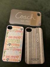 Three COACH iPhone 5 Phone Cases - 1941 Mirror Designer