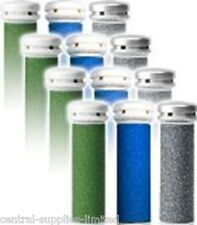 Emjoi Compatible Micro Pedi Extreme Coarse/Extra/Extreme Rollers Refill 12 Pack