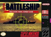 Super Battleship Super Nintendo Game SNES Used