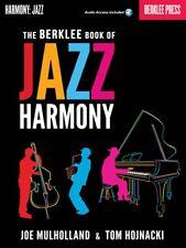 The Berklee Book of Jazz Harmony Berklee Guide Book and Audio 000113755