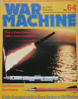 War Machine magazine Issue 64  Naval Surface-to-Air Missiles
