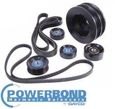 POWERBOND 25% UNDERDRIVE POWER PULLEY KIT HOLDEN MONARO V2 VZ LS1 5.7L V8