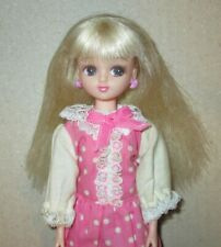 Takara Licca Doll with Pale Blonde Hair