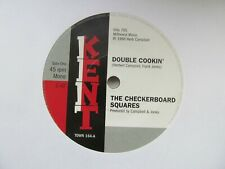 "THE CHECKERBOARD SQUARES Double Cookin'/THE TANDELS Is It Love Baby 7"" Single"