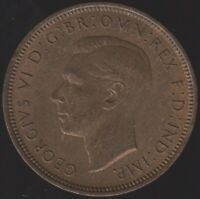1948 George VI Halfpenny | British Coins | Pennies2Pounds